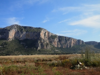 Rugged mountains surround the Reserve